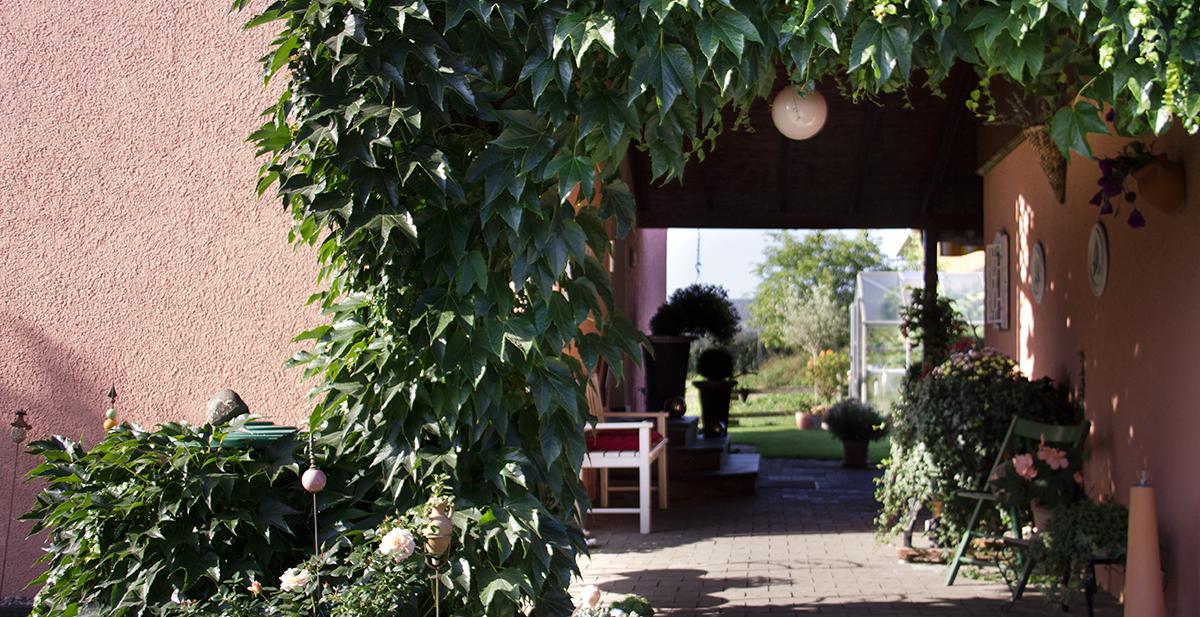 Eingang-Ferienwohnung